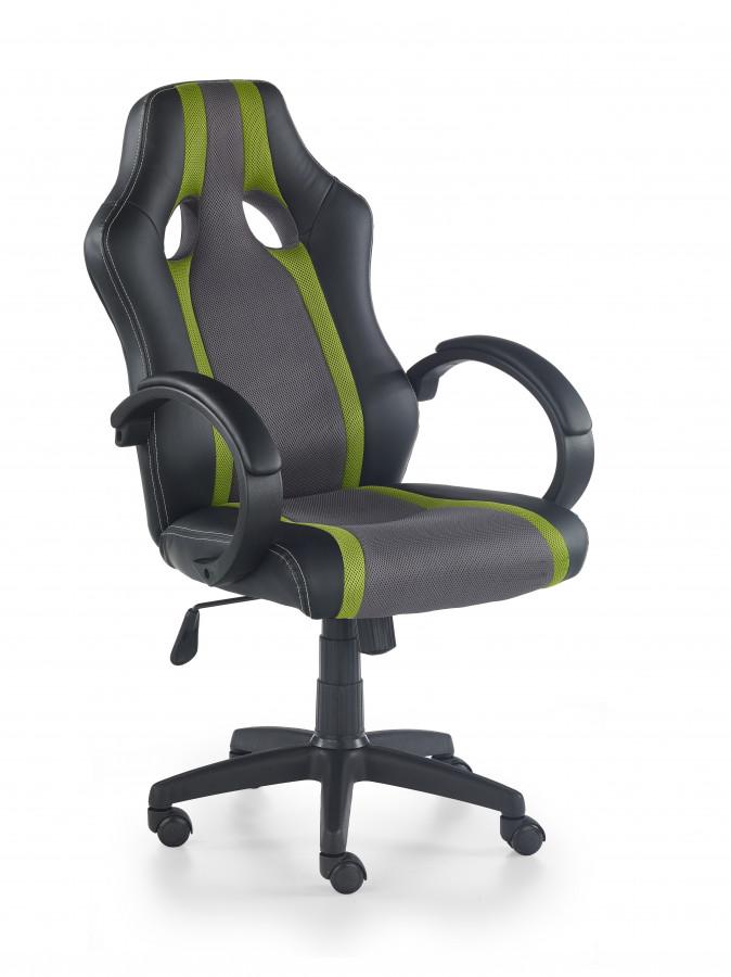 Halmar Kancelářské křeslo Radix, šedo-zelené