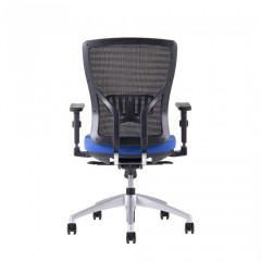 Kancelářská židle HALIA MESH BP - modrá č.5