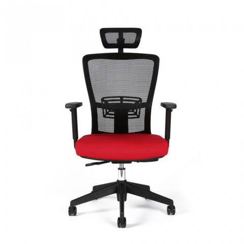 Kancelářská židle THEMIS SP - TD-14, červená č.2