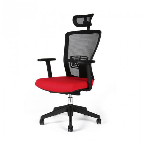 Kancelářská židle THEMIS SP - TD-14, červená č.3