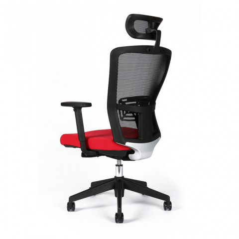 Kancelářská židle THEMIS SP - TD-14, červená č.5