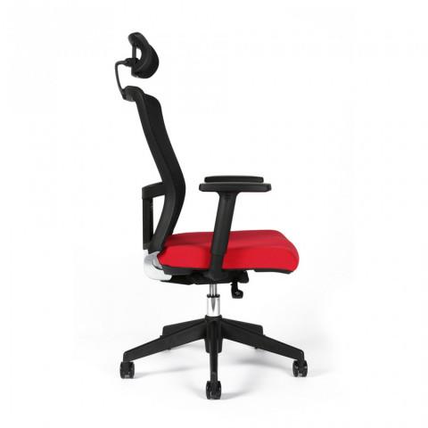 Kancelářská židle THEMIS SP - TD-14, červená č.8