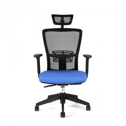Kancelářská židle THEMIS SP - TD-11, modrá č.2