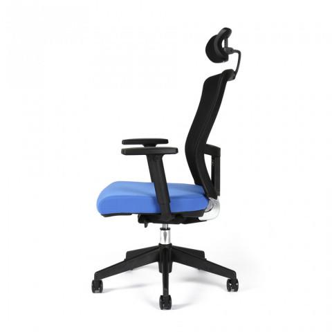Kancelářská židle THEMIS SP - TD-11, modrá č.4