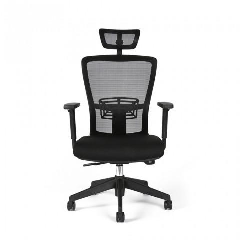 Kancelářská židle THEMIS SP - TD-01, černá č.2