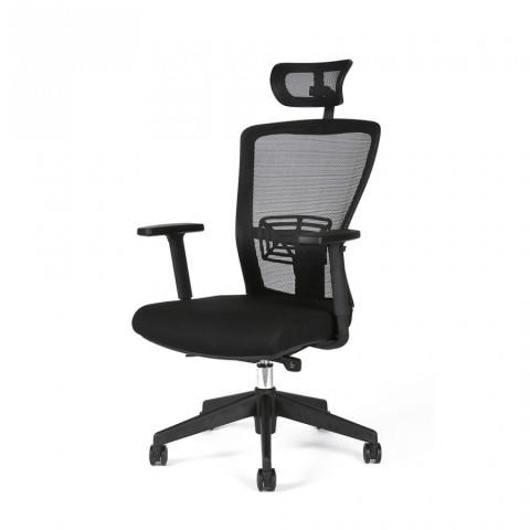 Kancelářská židle THEMIS SP - TD-01, černá č.3