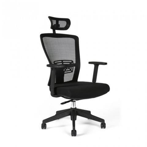 Kancelářská židle THEMIS SP - TD-01, černá