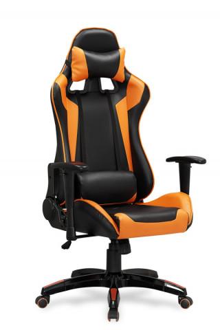 Kancelářské křeslo DEFENDER, černo-oranžový č.1