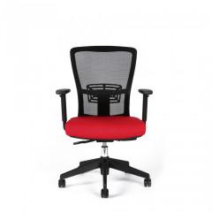 Kancelářská židle THEMIS BP - TD-14, červená č.8