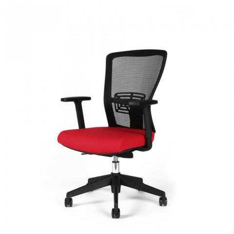 Kancelářská židle THEMIS BP - TD-14, červená č.3