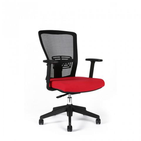 Kancelářská židle THEMIS BP - TD-14, červená č.1