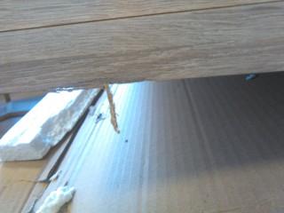 PC stůl RAFAEL NEW - dub sonoma/bílá - II. jakost č.7