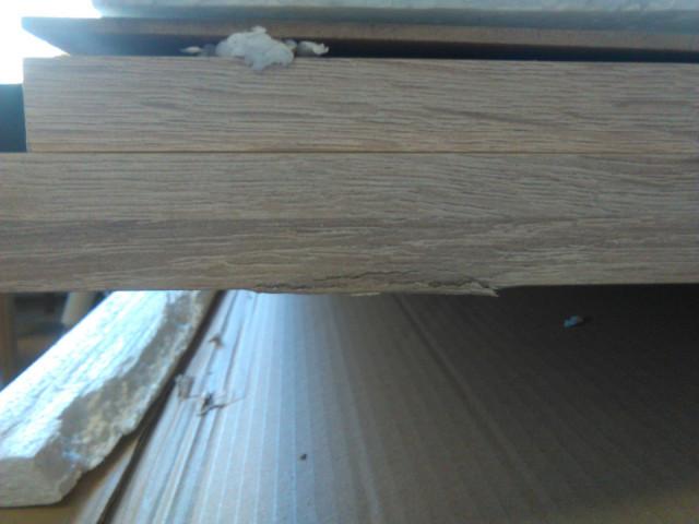 PC stůl RAFAEL NEW - dub sonoma/bílá - II. jakost č.4