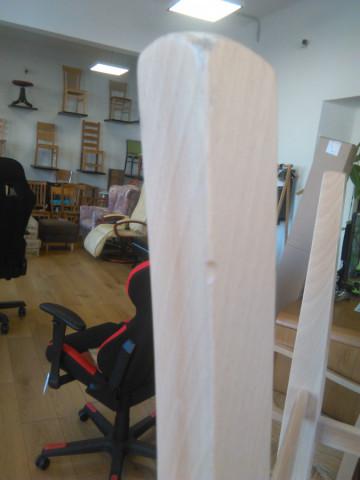 Jídelní židle Comfort koženka Maracaibo crema/buk - II. jakost č.2
