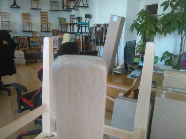 Jídelní židle Comfort koženka Maracaibo crema/buk - II. jakost č.3