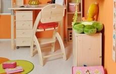 Rostoucí židle patří do každého dětského pokoje