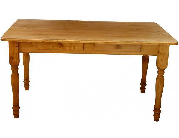 Dřevěný jídelní stůl 00457
