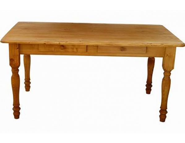 Dřevěný jídelní stůl 00458