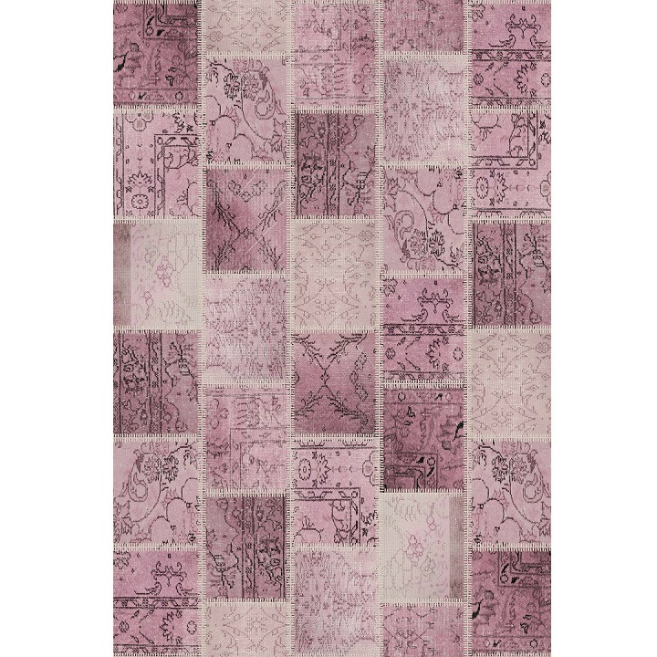 Tempo Kondela Koberec ADRIEL TYP 3, 80x150 - růžový + kupón KONDELA10 na okamžitou slevu 3% (kupón uplatníte v košíku)