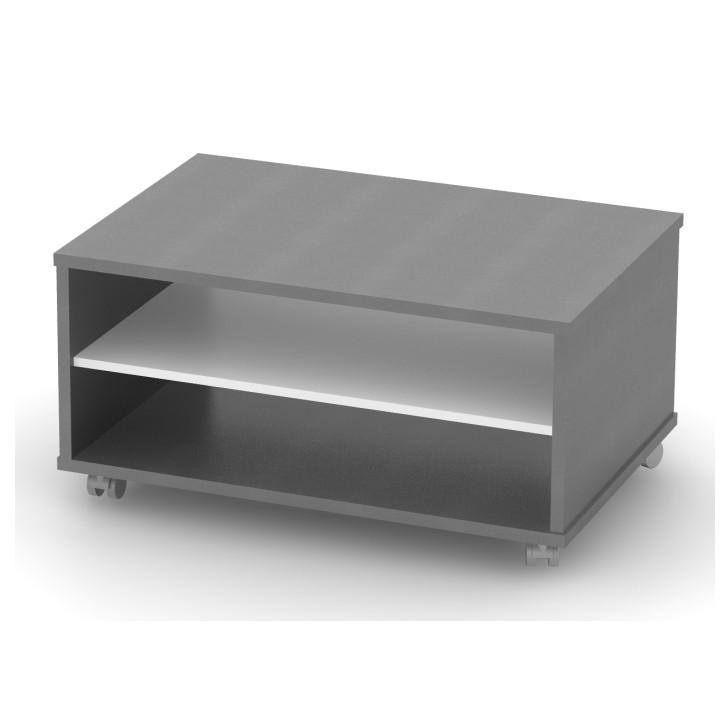 Tempo Kondela Konferenční stolek RIOMA TYP 32 - grafit / bílá + kupón KONDELA10 na okamžitou slevu 3% (kupón uplatníte v košíku)