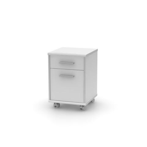 Kancelářský kontejner JOHAN NEW 07 - bílý