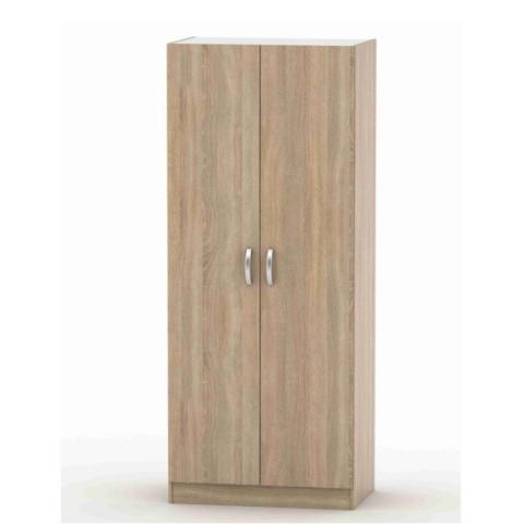 2-dveřová skříň, věšáková, poličková, dub sonoma, BETTY 2