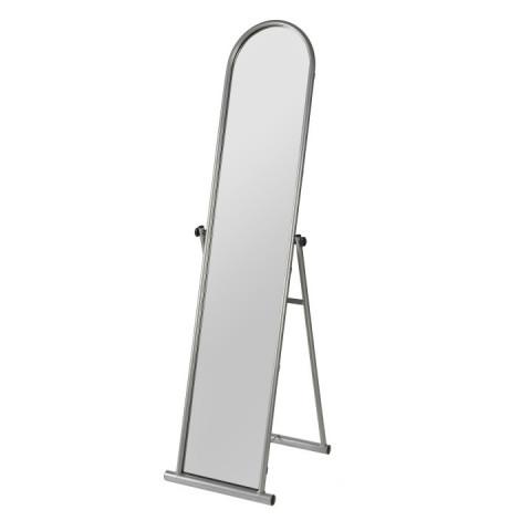 Zrcadlo ANGELA - stříbrný kov