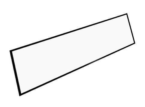 Boční sokl ke kuchyním 40 cm bílá