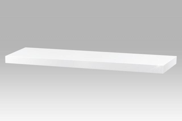 Polička 80cm P-005 WT - Bílá lesk