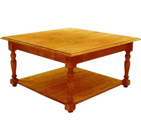 Konferenční stolek dřevěný 00408