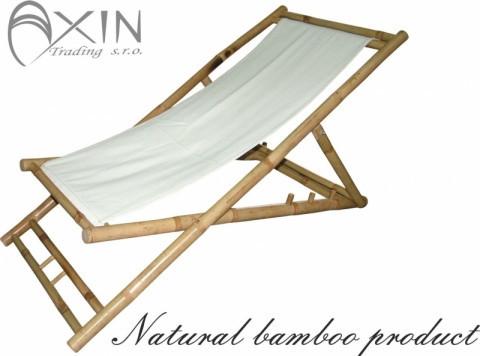 Bambusové lehátko Relax