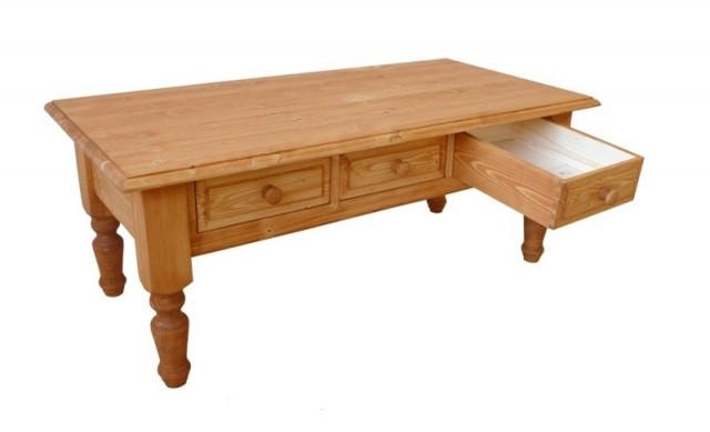 Konferenční stolek dřevěný 00422
