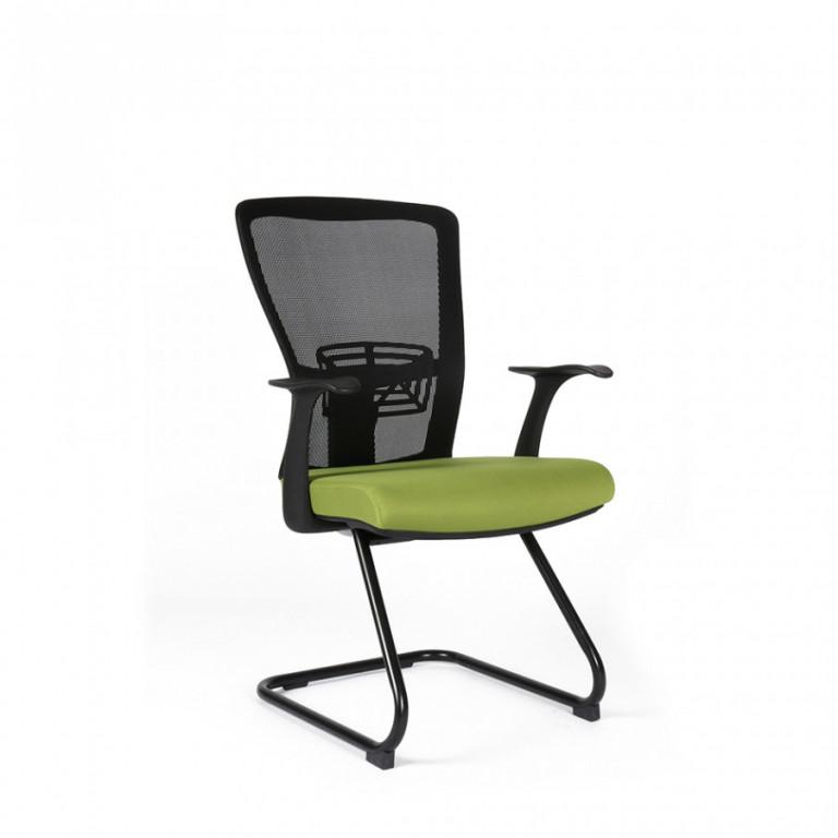 Jednací židle THEMIS MEETING - TD-20, zelená
