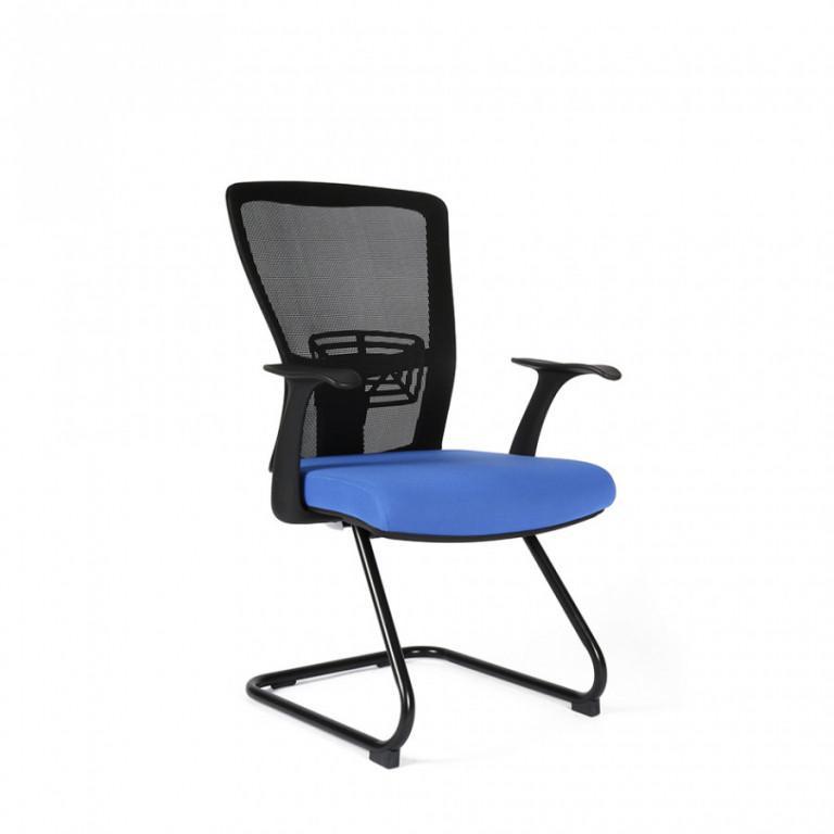 Jednací židle THEMIS MEETING - TD-11, modrá