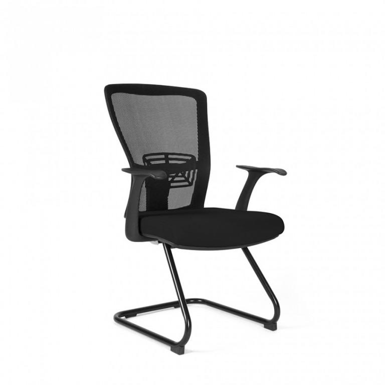 Jednací židle THEMIS MEETING - TD-01, černá