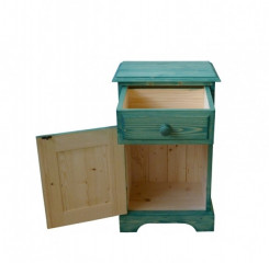 Dřevěný noční stolek 00129