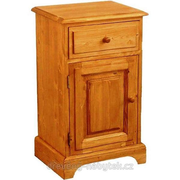 Unis Dřevěný noční stolek 00129 (levý)