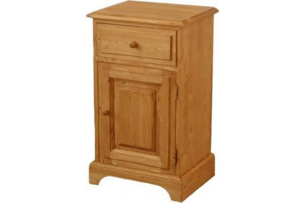 Dřevěný noční stolek 00133 (pravý)