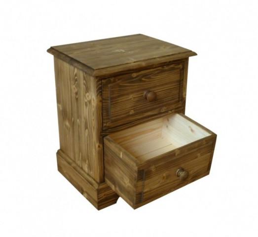 Dřevěný noční stolek 00134