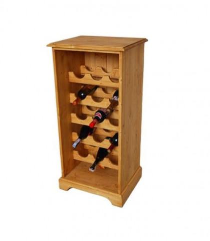 Dřevěná vinotéka 00260