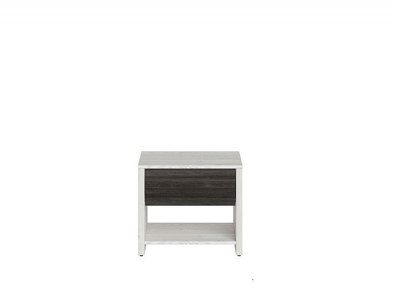 Noční stolek Salins KOM1S - modřín sibiu světlý