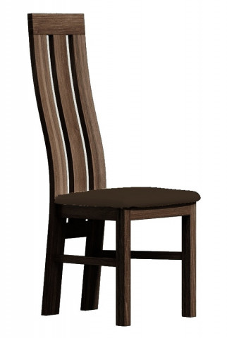 Čalouněná židle II tmavý jasan/Victoria 36