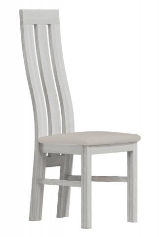 Čalouněná židle II bílá/Victoria 20