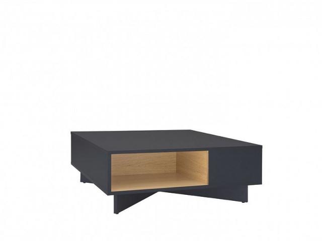 Konferenční stolek Modai LAW/3/8 - černá antracit/dub polský č.2