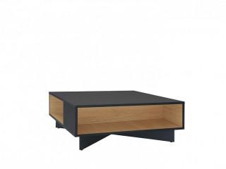 Konferenční stolek Modai LAW/3/8 - černá antracit/dub polský č.7