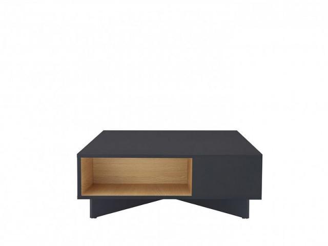 Konferenční stolek Modai LAW/3/8 - černá antracit/dub polský č.4