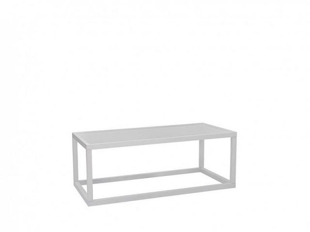 Konferenční stolek Modai LAWA 103 x 53 cm - bílá č.2