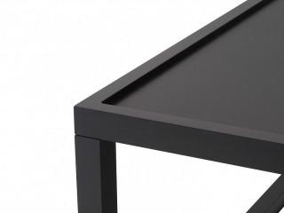 Konferenční stolek Modai LAWA 63 x 63 cm - černá č.7