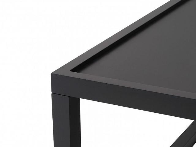 Konferenční stolek Modai LAWA 63 x 63 cm - černá č.2