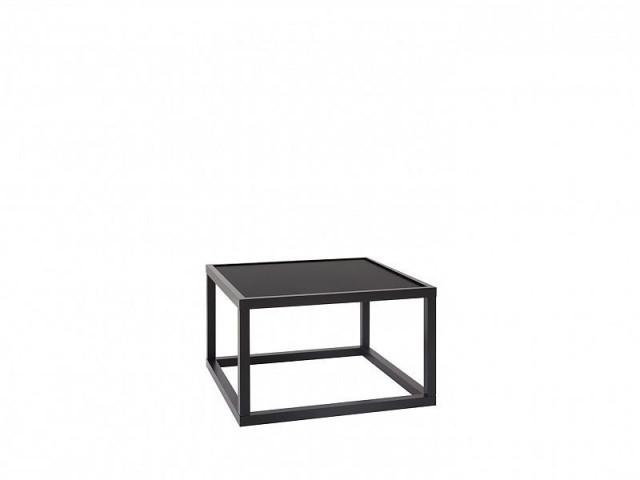 Konferenční stolek Modai LAWA 63 x 63 cm - černá č.1